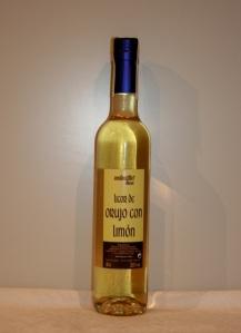 Licor de Orujo con Limón